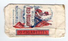 Old English Cigarette packet by Will's Red Hussar #034